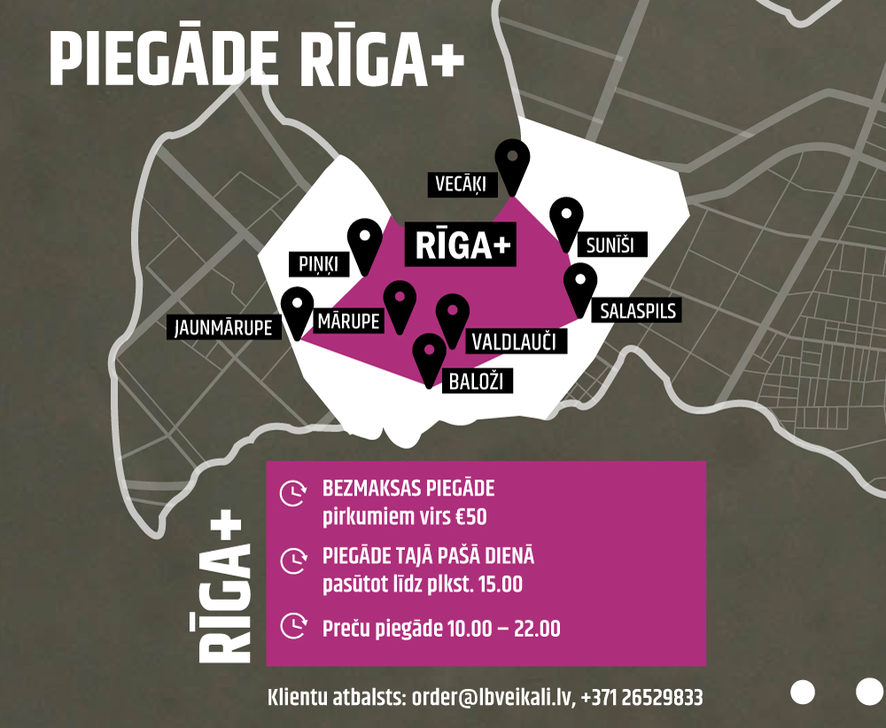 PIEGADE RIGA+